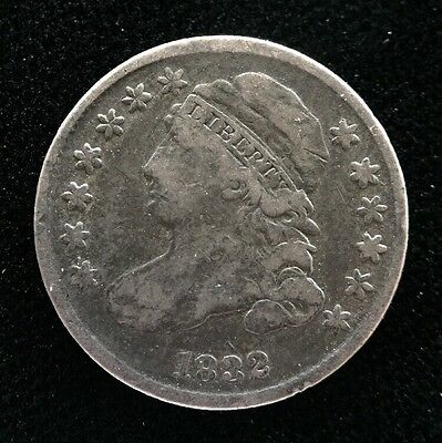 1832 Capped Bust Half Dime H10C 5 Cents - Nice Coin