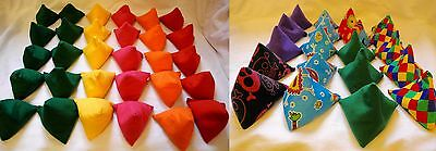 50 x Juggling Bean Bags Triangular Catching Practice Play PE Goth
