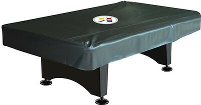 Imperial NFL Deluxe 8' Pool Table Cover Pittsburgh Steelers