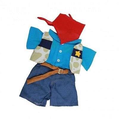 """Cowboy Outfit Teddy Bear Clothes to fit 8""""-10"""" bears"""