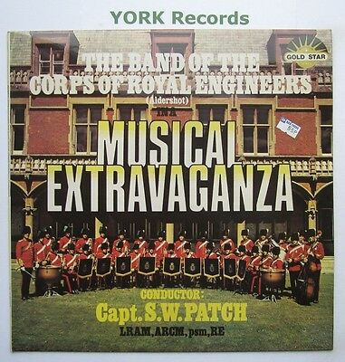 BAND OF THE CORPS OF ROYAL ENGINEERS - Musical Extravaganza - Ex Con LP Record