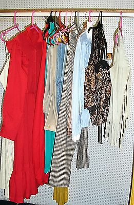 Job Lot of Western Costumes for Oklahoma / Calamity Jane / Stage & Theatre etc