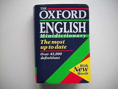 The Oxford English Minidictionary Lot De 27