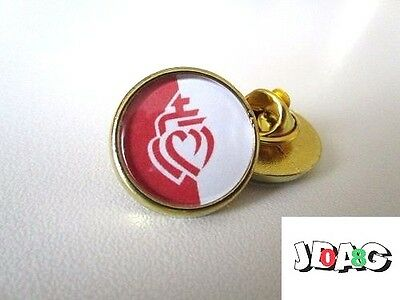 Pins Pin's Badge Coeur Vendeen - Vendee France - Finition Or Ou Argent