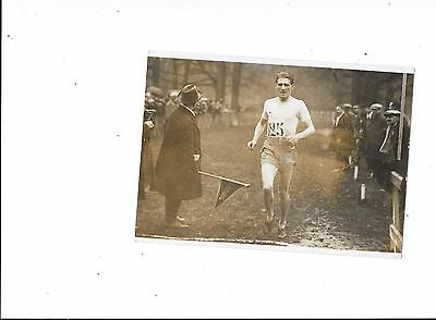 Press Photograph Roger Pele French Athletics Champion Circa 1928 ?Cross Country