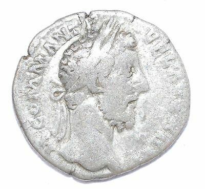 AUTHENTIC COMMODUS ROMAN COIN - AR Silver Denarius, Rv. Liberalitas - A708