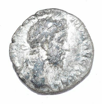 AUTHENTIC COMMODUS ROMAN COIN - AR Silver Denarius, Rv. Victoria - A709