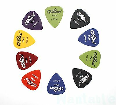 10 Heavy Guitar Picks Plectrum Acoustic Electric Alice ABS .96mm