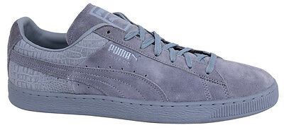 Puma Suede Classic Casual Mens Lace Up Leather Tempest Trainers 361372 09 D94