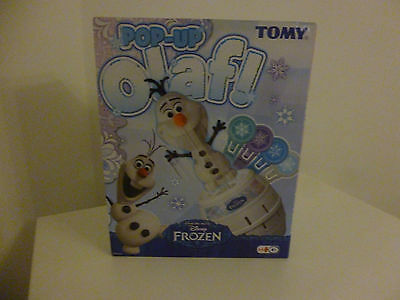 TOMY Pop Up Olaf Disney Frozen NEW FREE P&P