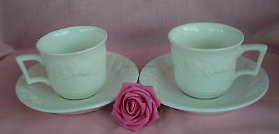BHS LINCOLN  TEA CUPS & SAUCERS x 2