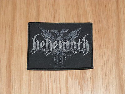 Behemoth - Logo Eagles (New) Sew On W-Patch Official Band Merchandise