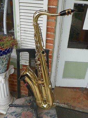 Vintage Used Yamaha YTS-21 YTS21 Sax Tenor Saxophone w Case & Stand