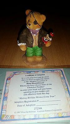 Cherished Teddie Cherised  Teddy Scherischd Sammlung 1997 Drosselmeyer