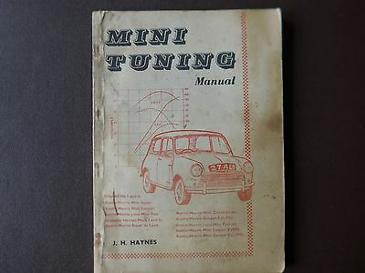 Original Mini Tuning Manual J H Haynes 1964