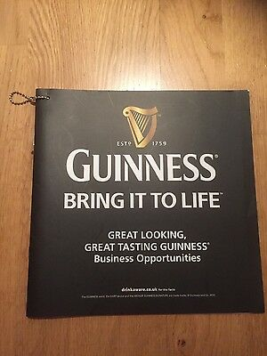 Guinness  Business Book - Bring it to life  27 Page Brochure