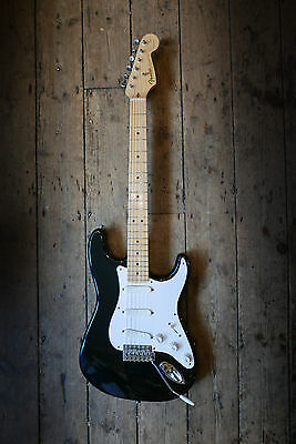 1999 Fender Stratocaster Eric Clapton Sinature Series - Blackie - With Case