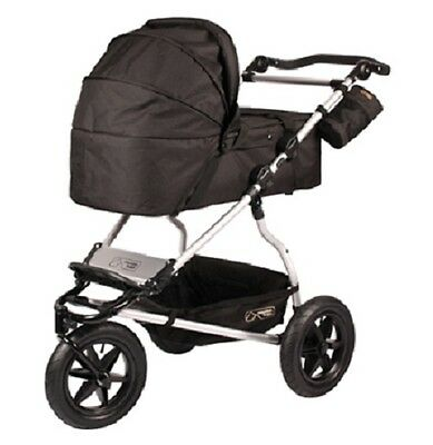 Mt Buggy Carrycot Black for 2008 to 2014 Urban Jungle & Terrain Strollers New!!