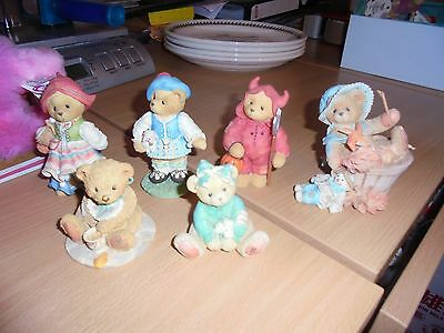 Collectors Cherished Teddies collection some retired
