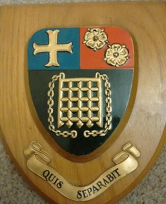 School / College  plaque Crest Shield