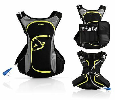Zaino Zainetto Idrobag Attrezzi Tool Acerbis Acqua Drink Bag Enduro Cross 3L 2L