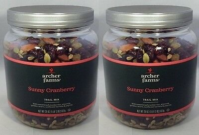 2 pk Archer Farms Sunny Cranberry Trail Mix 29oz