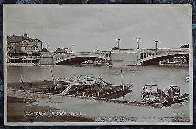 Vintage Postcard: Caversham Bridge, Reading, 1946