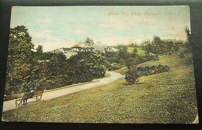 Postcard : Belle Vue Park, Newport, Monmouthshire, Wales  : Edwardian posted