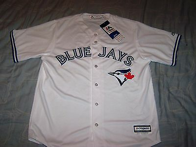 Official New With Tags Baseball Blue Jays Shirt Jersey Large Man.