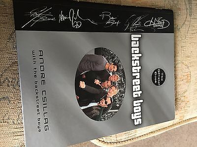 The Backstreet Boys: The Official Book by Anore Csillag (Paperback, 2000)