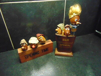Vintage retro BAR Accessories - Openers and Stoppers
