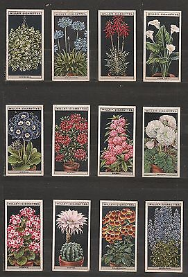 Complete set of 50 tobacco cards/FLOWER CULTURE/Wills/1925/UK
