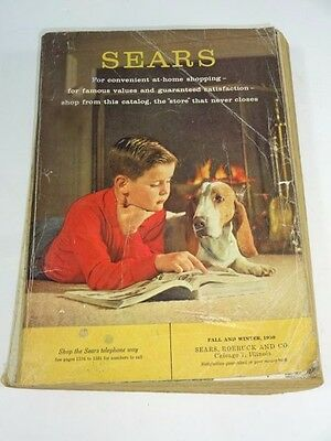 Vintage - SEARS CATALOG  1959 FALL & WINTER - 1590 Pages - Chicago Illinois