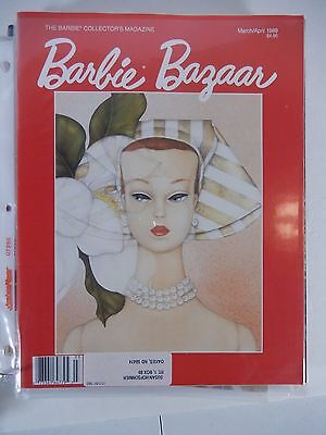 Barbie Doll Bazaar Collector's Magazine March/april 1989