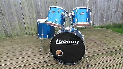 Ludwig Accent Custom Shell Pack drum set