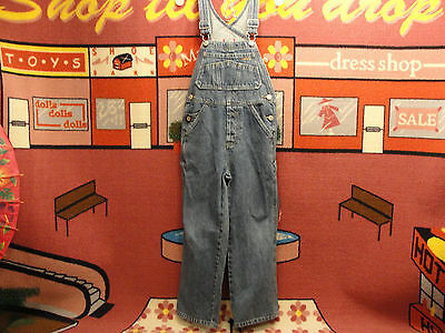 Boys,old Navy,26X22,blue Jeans,denim,carpenters,overalls,button Fly,6/7,small
