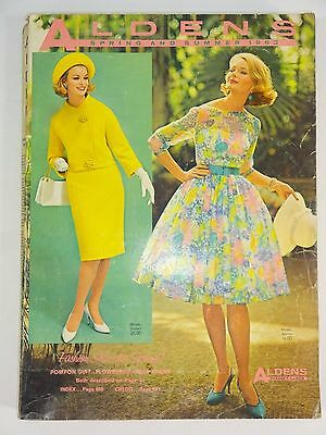 Vintage - 1963 Aldens Spring and Summer Catalog Back Issue - Chicago Illinois