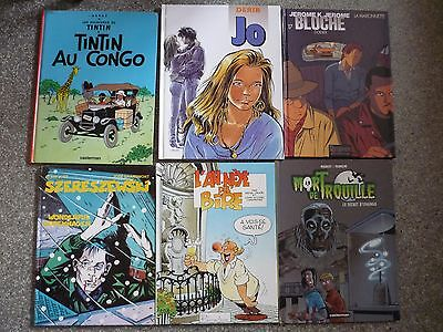 LOT DE SIX BANDES DESSINEES 10€ les 6 P