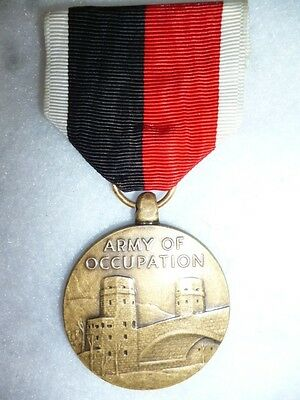 U.S. The Army of Occupation Medal Post WW2 - Genuine