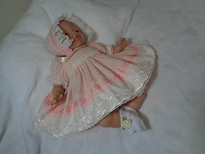 """DOLLYDUMPLING handmade dolls clothes, for 14""""Reborn baby/ or any 14"""" baby doll"""