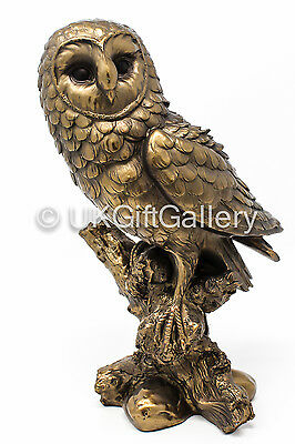 Reflections Bronze Effect Owl Figurine by Leonardo - New and Boxed LP28622