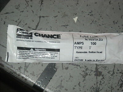 HUBBELL Chance Fuse Link  100 amp