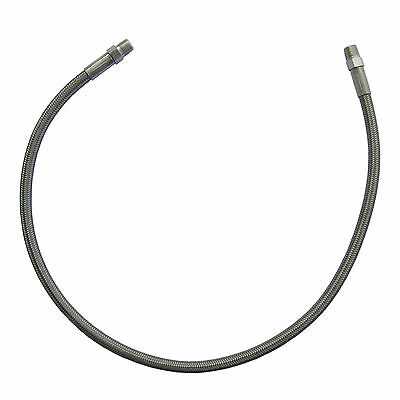 """New Paintball Air High Pressure Stainless Steel Braided Hose Line 24 Inch  24"""""""