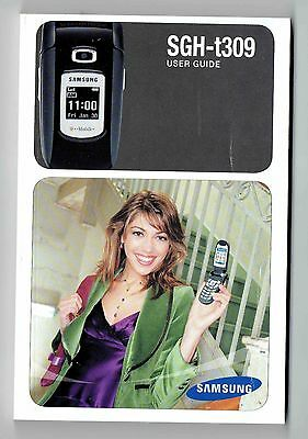 Samsung SGH-t309 User Manual in English only - EX
