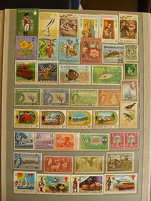 British Colonies Worldwide, mostly MNH collection, including 2 S/Sheets, 2 scans