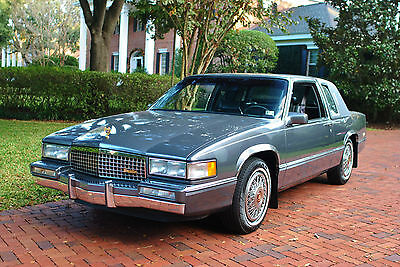 1989 Cadillac DeVille Coupe 51,082 Actual Miles! Looks &  No reserve pectacular 1989 Cadillac Coupe DeVille One Owner 51K Original Miles Fully Loade