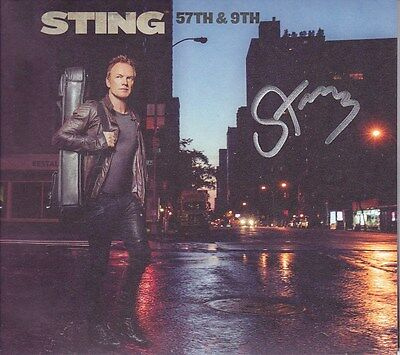 STING signed autographed CD