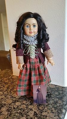 """OOAK AMERICAN GIRL Custom Made Kirsten Doll As """"Claire Fraser"""" from Outlander"""