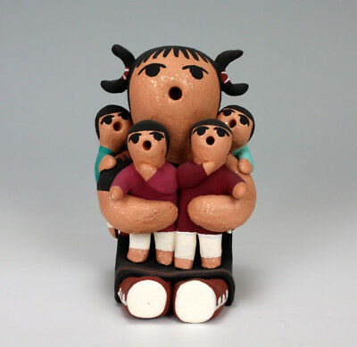 Cochiti Pueblo American Indian Pottery Storyteller - Karen Nieto