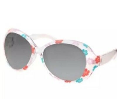 New Gymboree  Flower Print Sunglasses 4 & Up Tropical Breeze